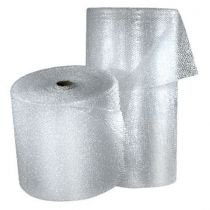 Bubble wrap and foam on a roll to protect art and heritage