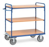 Fetra shelved trolley - Various sizes