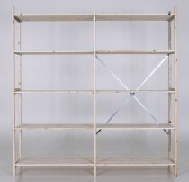 Eurorek® extension - Wooden shelving with four, five or six shelves